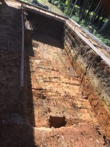 Pool Excavated by Dingo Earthworks in Cairns
