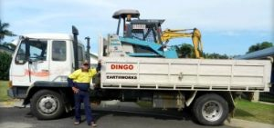 Raw material delivery - Dingo Earthworks